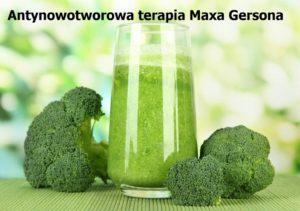 antynowotworowa terapia Maxa Gersona
