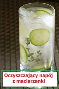 oczyszczający napój