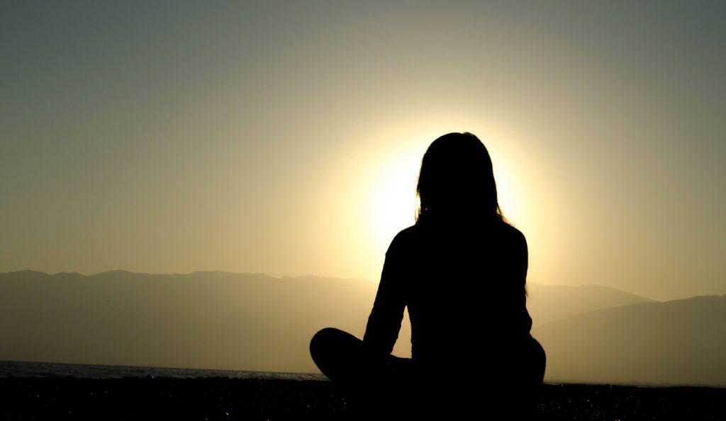 wyciszenie w samotności