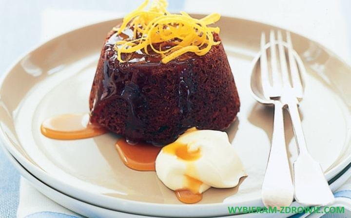 deser daktylowo-cytrynowy