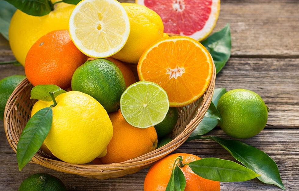 pomarańcze i cytryny